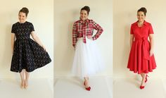 The Holiday Collection: Vogue 9197, Vogue 8772, and Butterick 5030