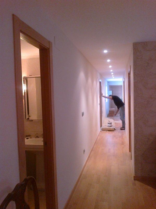 Lucido y pintura de pasillo