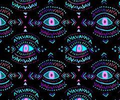 Third Eye Art Print by Schatzi Brown   Society6