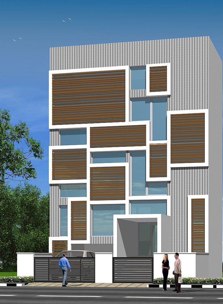 Modern House Bungalow Exterior By Ar Sagar Morkhade Vdraw Architecture 91 8793196382: Modern Exterior, Easy Woodworking Projects, Shop Buildings