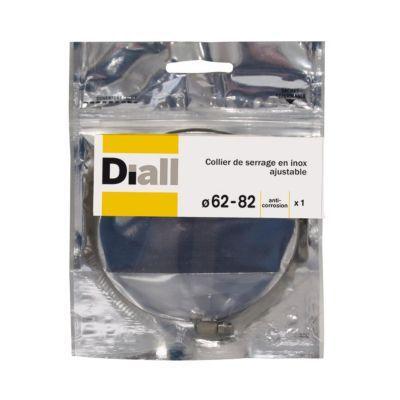 Collier De Serrage Diall Inox L8 X O62 82 Mm En 2020 Collier De Serrage Inox Et Colliers