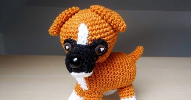 Tierhundboxerhäkelnanleitungkostenlos Puppe Pinterest