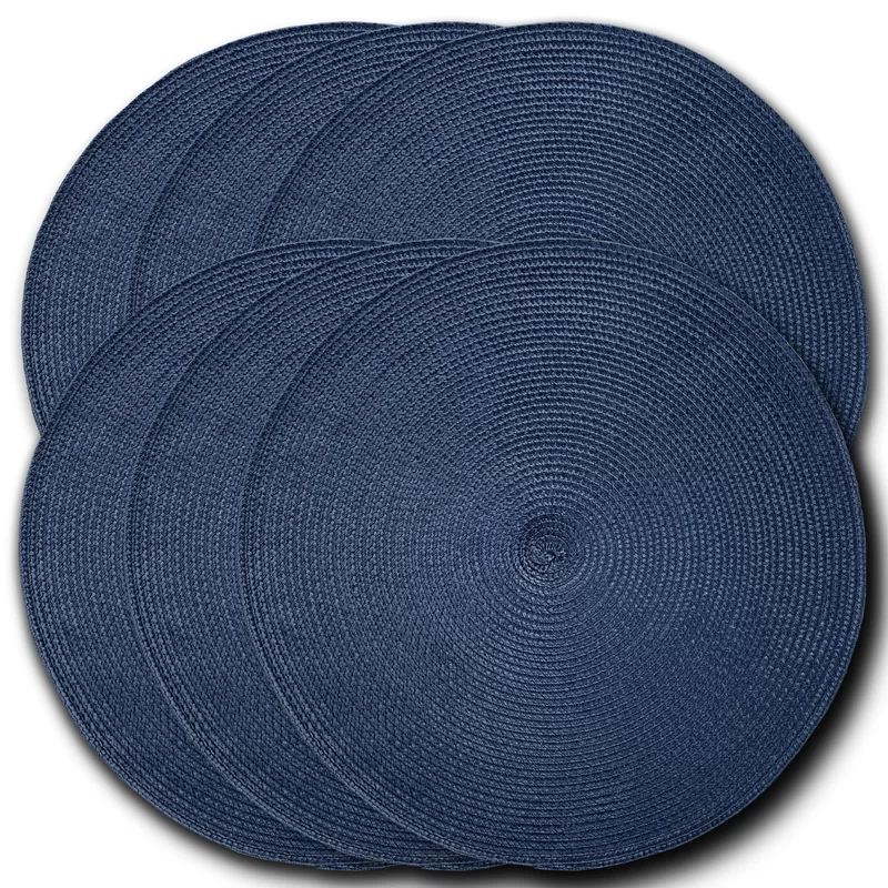 Rosalba Braided 15 Placemat Placemats Wrought Dining Table Setting