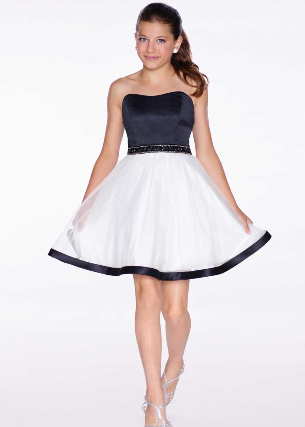 Lexie by Mon Cheri TW11664 Sleeveless Girls Party Dress