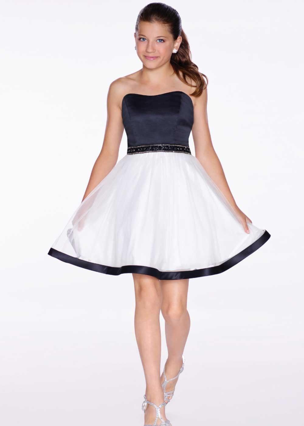Lexie by Mon Cheri TW11664 Sleeveless Girls Party Dress | Ivory ...