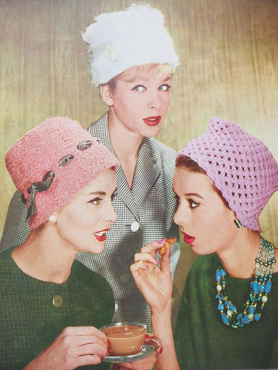 4a7d306341e Lee Target Hat Knitting Pattern Vintage Retro six winter