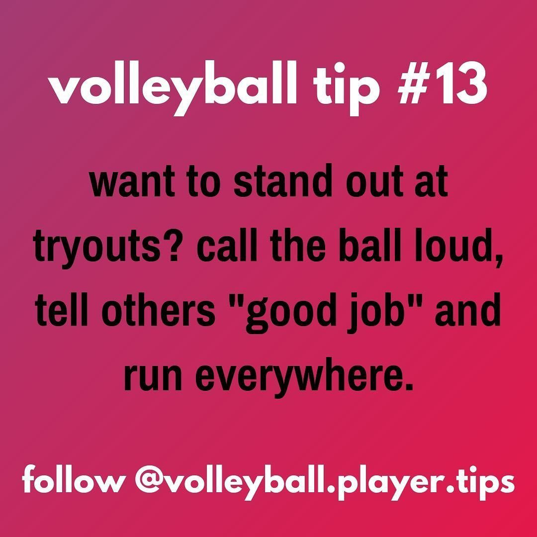 Best Volleyball Matches Volleyball Player Tips On Instagram Coaches Can Teach You To Play Better They In 2020 Volleyball Tips Volleyball Tryouts Volleyball Players