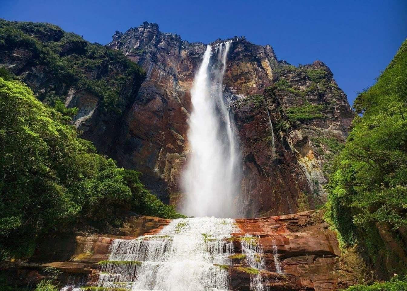 Angel Falls, Venezuela. | Angel falls venezuela, Largest ...