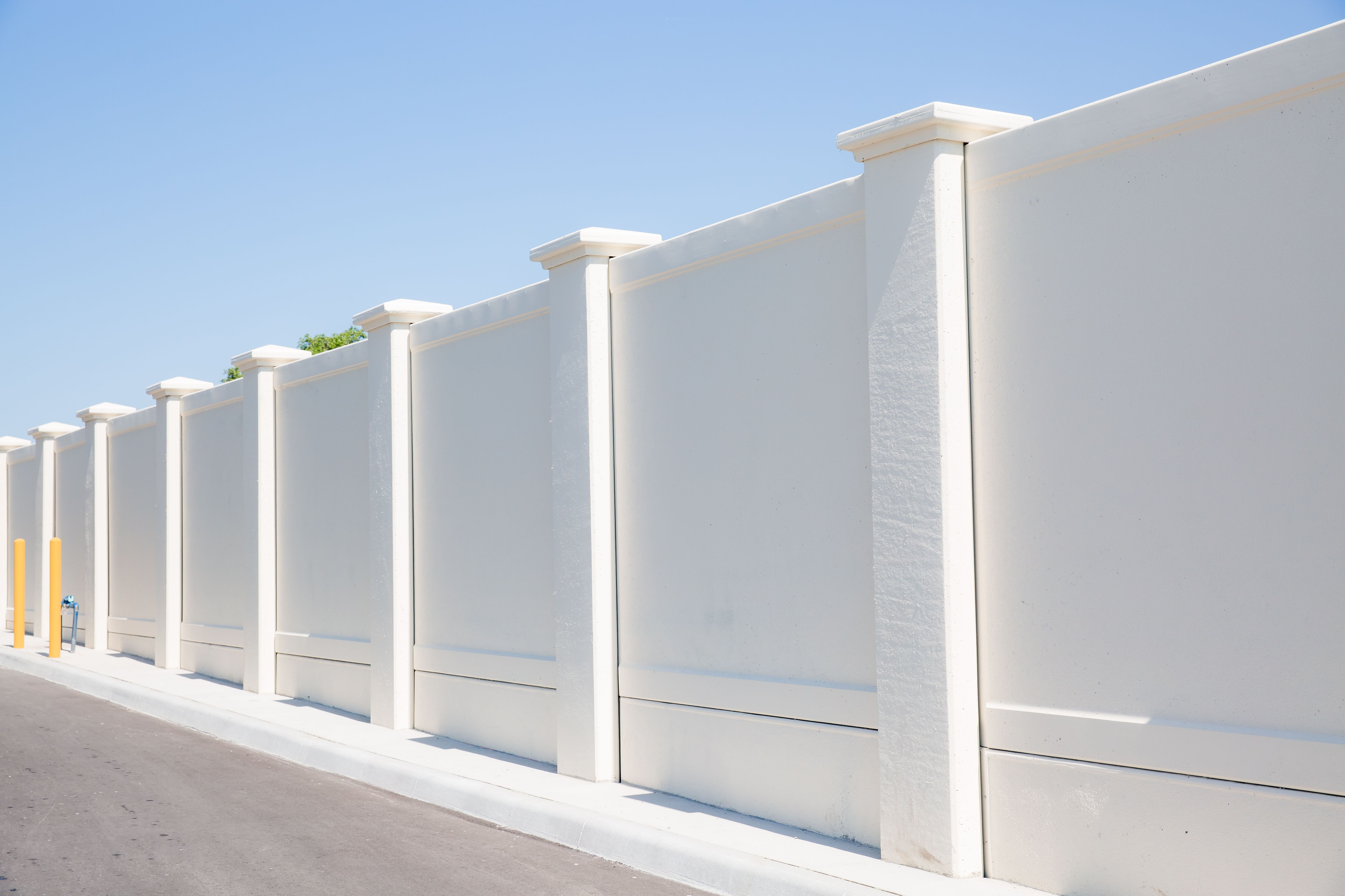 Permawall 1 0 Fence Wall Design Exterior Wall Design Compound