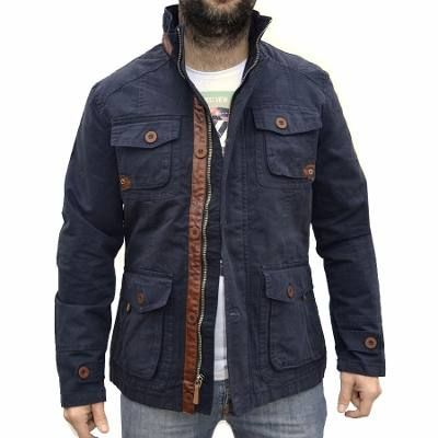 Campera De Gabardina Militar Camuflada Hombre The Big Shop - $ 2.760,00