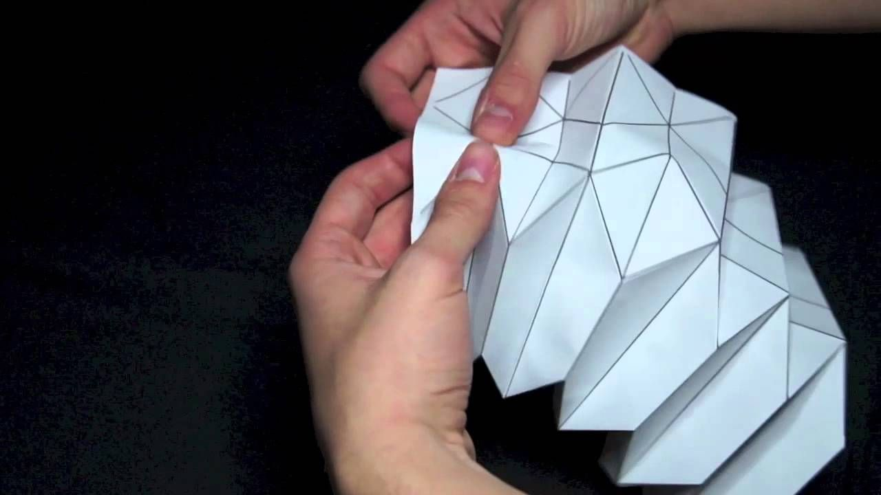 How To Origami Pavillion