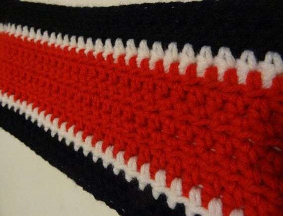 Mass Effect-inspired scarf on Etsy, $24.00