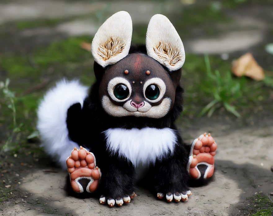 Best Stuffed Animals Images On Pinterest Buy Boxes Child And - Look like real baby animals actually incredibly realistic toys