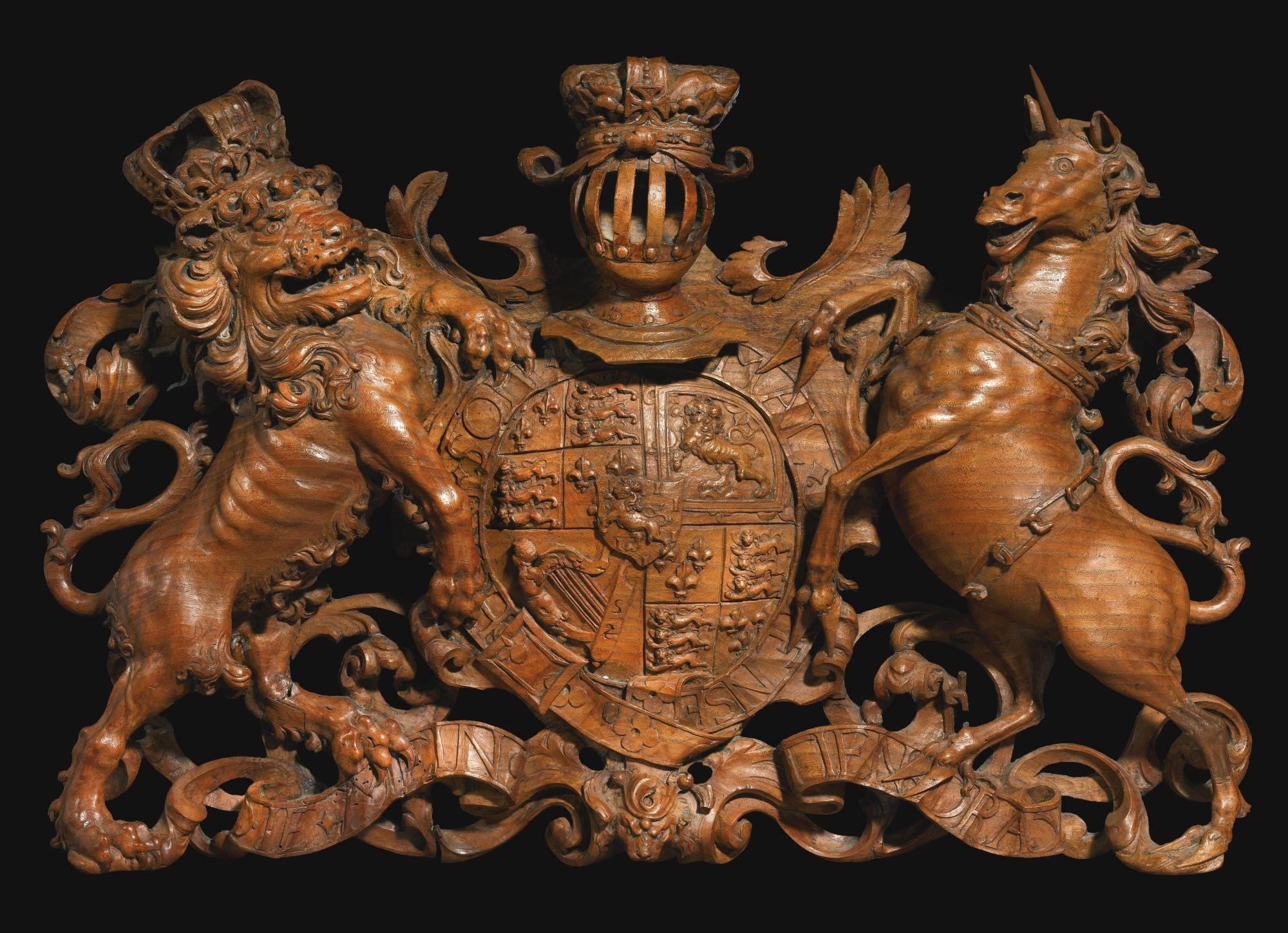 COAT OF ARMS OF WILLIAM III OF
