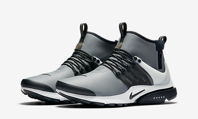 Nike Air Presto Mid Utility Cool Grey | The Sole Supplier
