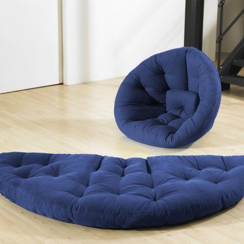 the fresh futon nido chair offers the same fresh look and clever design of the nest in a slightly smaller space saving size  easily convertible the nido     fresh futon nest royal fresh futonhttp   www amazon   dp