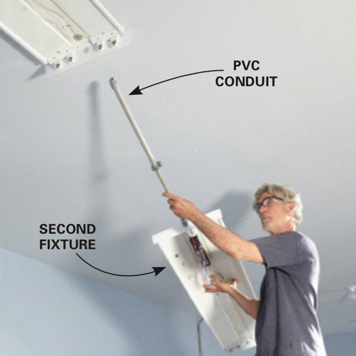 How To Wire A Finished Garage Finished Garage Diy Garage Door Garage Renovation