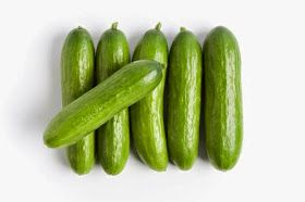 The young girl cucumber pussy