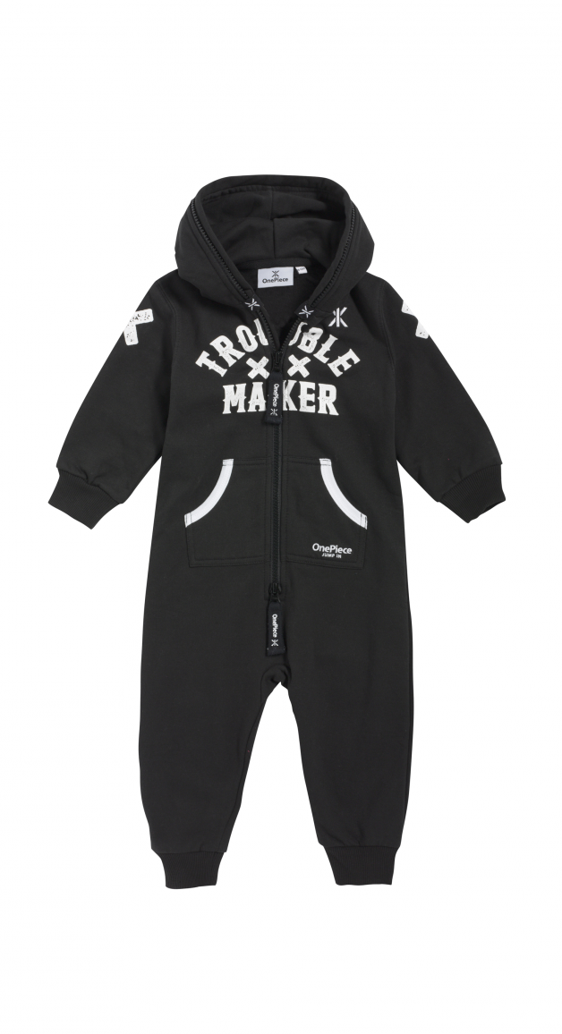 80a861a30737  OnePiece Baby Jumpsuit Trouble
