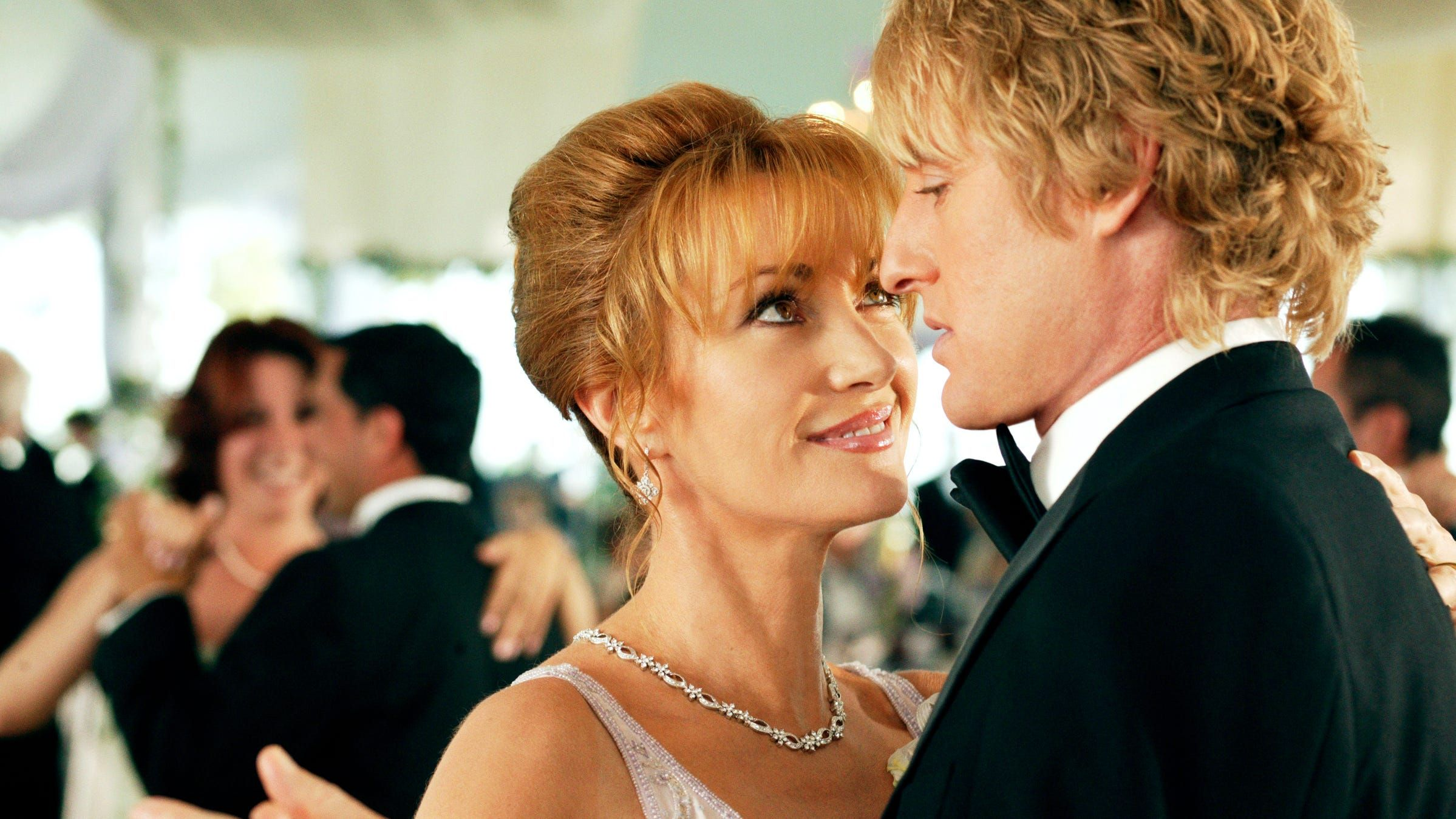 Wedding Crashers At 15 Jane Seymour Put The Hiss Into Kitty Kat But Almost Passed On R Rated Role Wedding Crashers Wedding Crashers Movie Jane Seymour