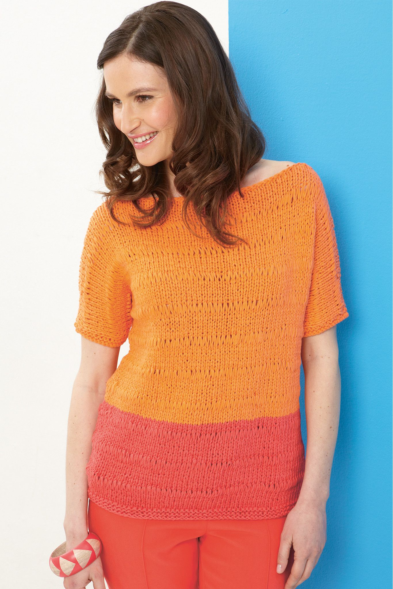 Womens Jumper With Dropped Stitch Knitting Pattern | Womens jumpers ...
