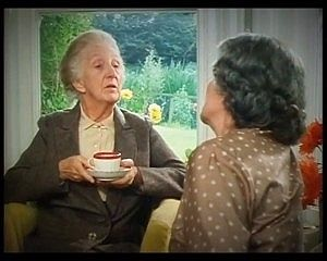 Joan Hickson as Miss Marple in The Moving Finger