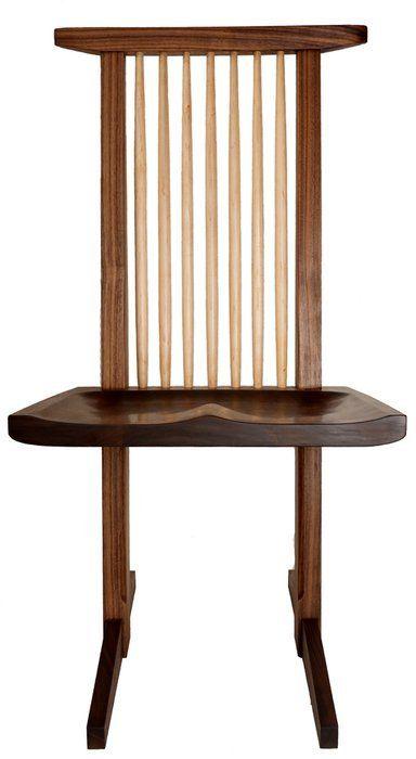 George Nakashima Chair Wood Design Furniture