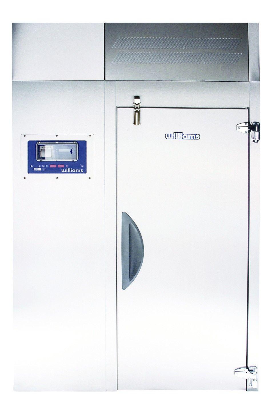 Willams Roll In Blast Chiller Flow design, Wbc, Food safety
