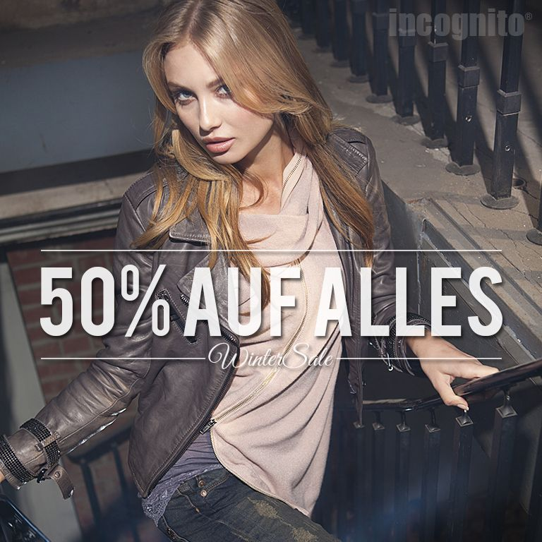 50 Auf Alles Ab Morgen Samstag 20 Dezember Incognito Wintersale Onlineshop Incognito Onlineshop Com Incognito Iloveincognito Incognitos