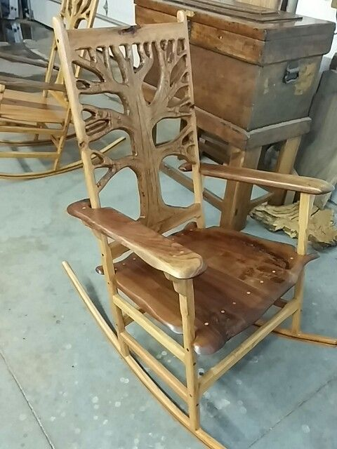 Handmade Rocking Chairs White Plastic Stackable Custom For Sale How To Make