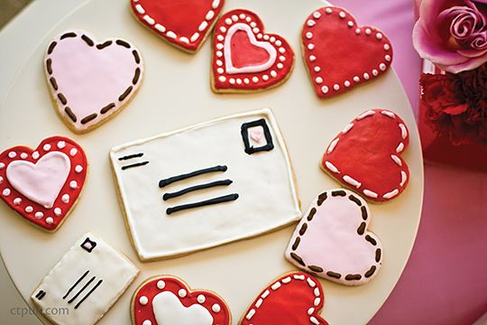 Valentine Sugar Cookies from Handmade Hostess