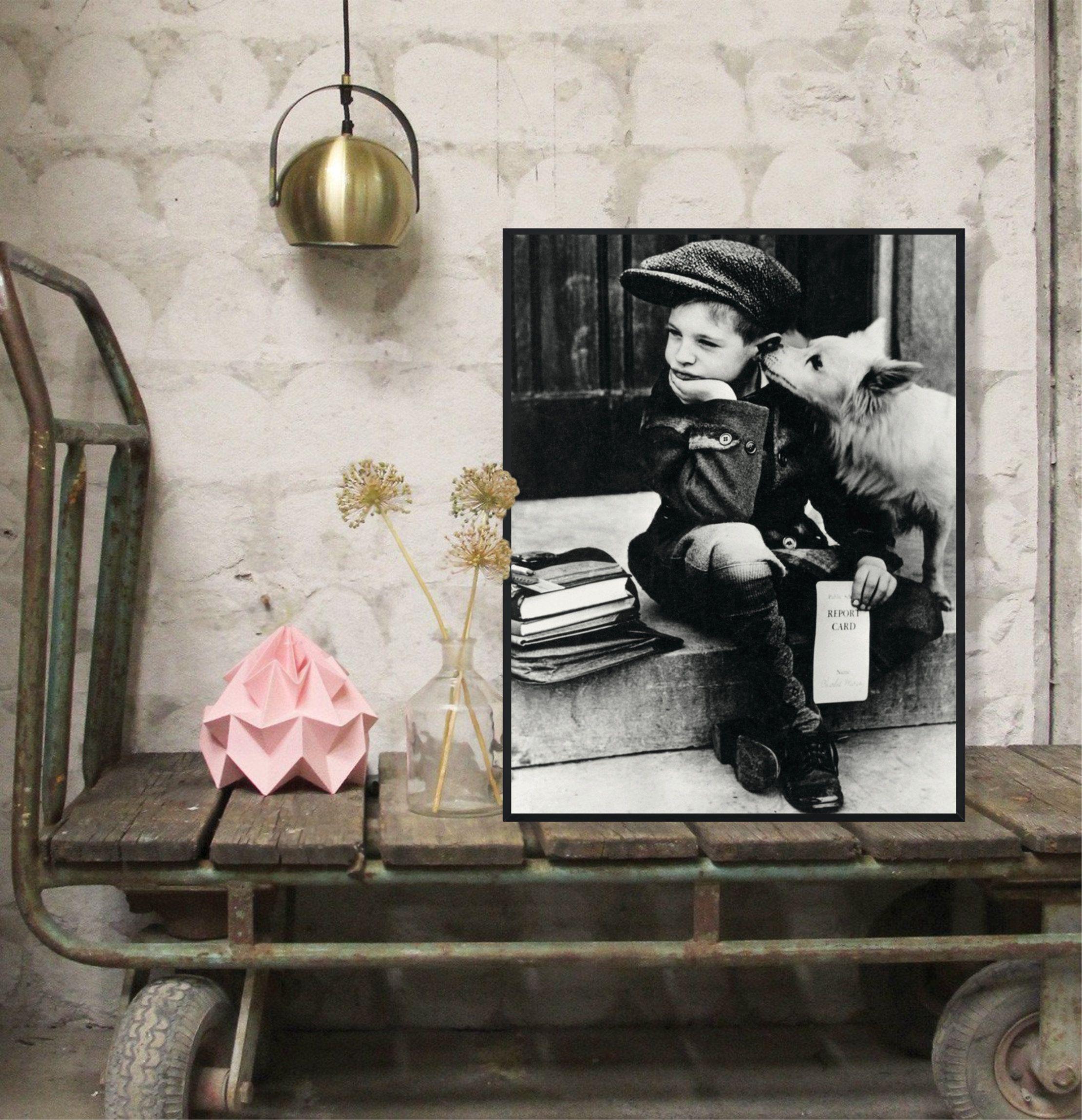Vintage Fashion Wall Photography Classic Photo Poster French Boy 1939 Photograph Interior Design Home Decor Retro Style Printable Fashion Wall Art Photography Vintage Fashion
