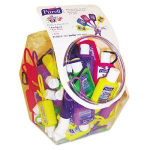 Gojo Purell Hand Sanitizer Jelly Wraps 0 50 Oz Dye Free Hand