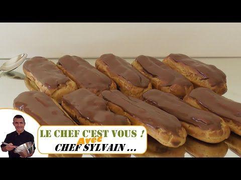 Recette Des Eclairs Au Chocolat Fifteen Spatulas Herve Cuisine Youtube Recette Eclair Au Chocolat Herve Cuisine