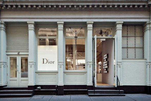 A luscious day in Soho: Dior Homme pop-up store in SoHo New York