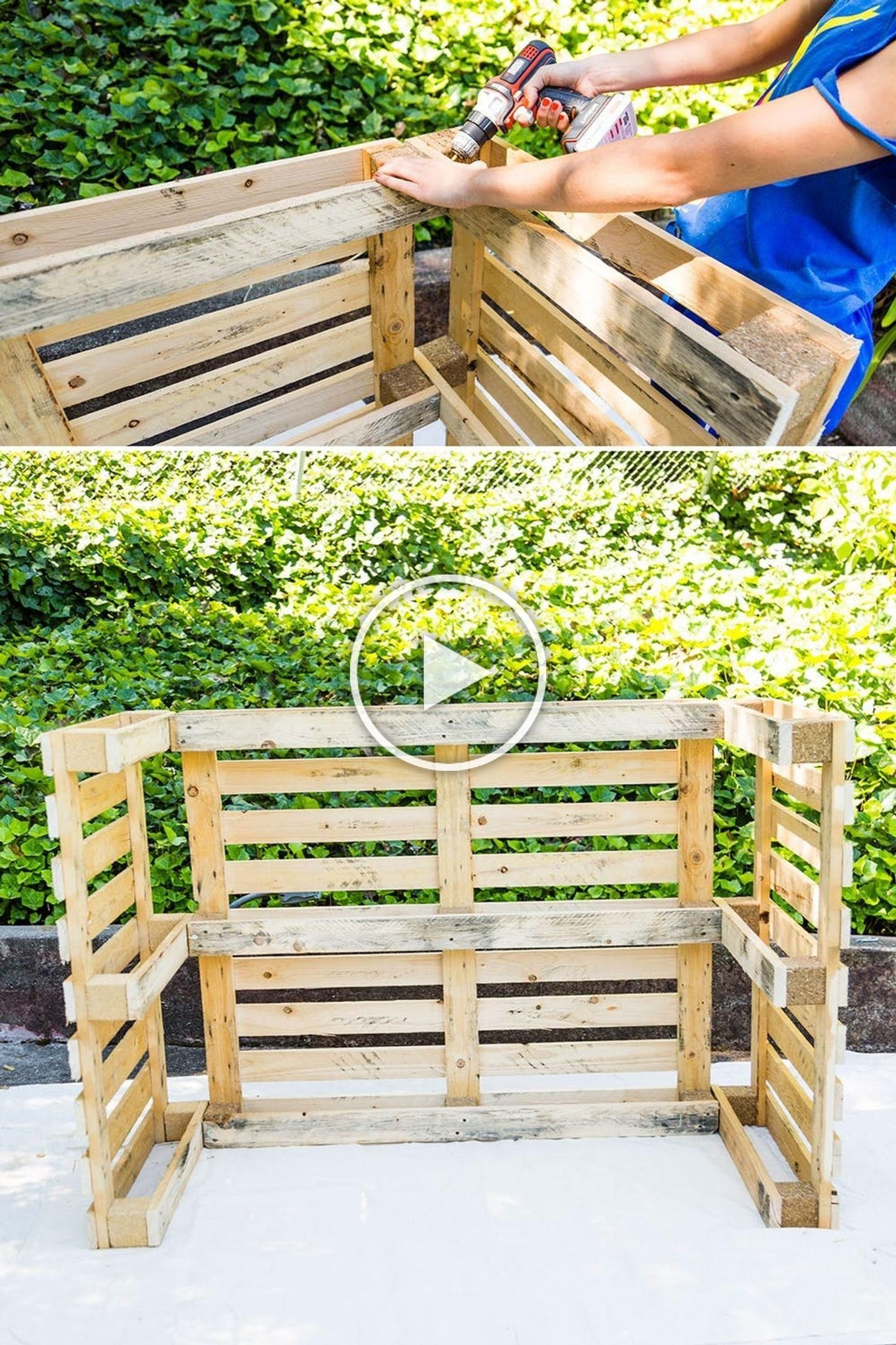 Diy This Pool Bar Made From Pallets To Step Up Your Backyard Game