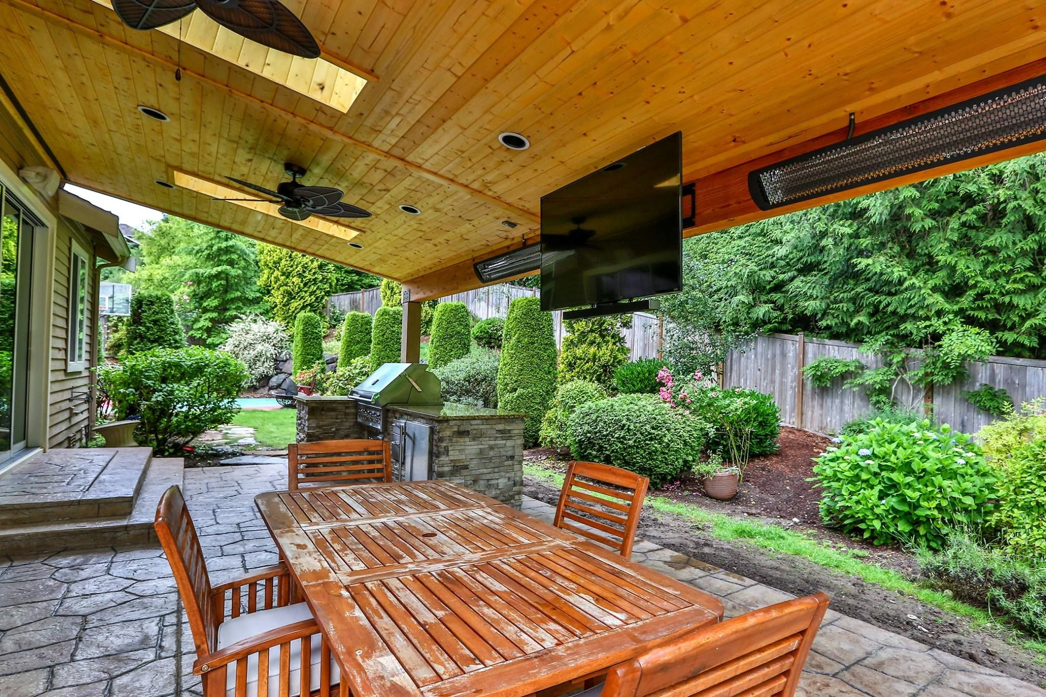 Beautiful Outdoor Patio By Timberline Patio Covers, LLC. Tungsten  Smart Heat Electric Provides Efficient And Ambient Heating.