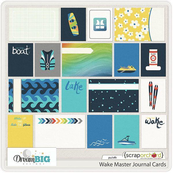 Wake Master Journal Cards