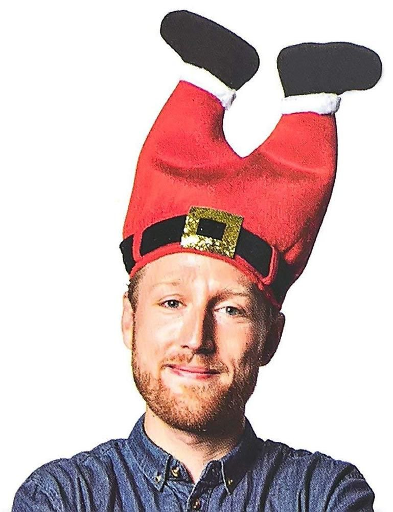 Unisex Kids Santa Hats Childrens Festive Hats Childrens Father Christmas Hat