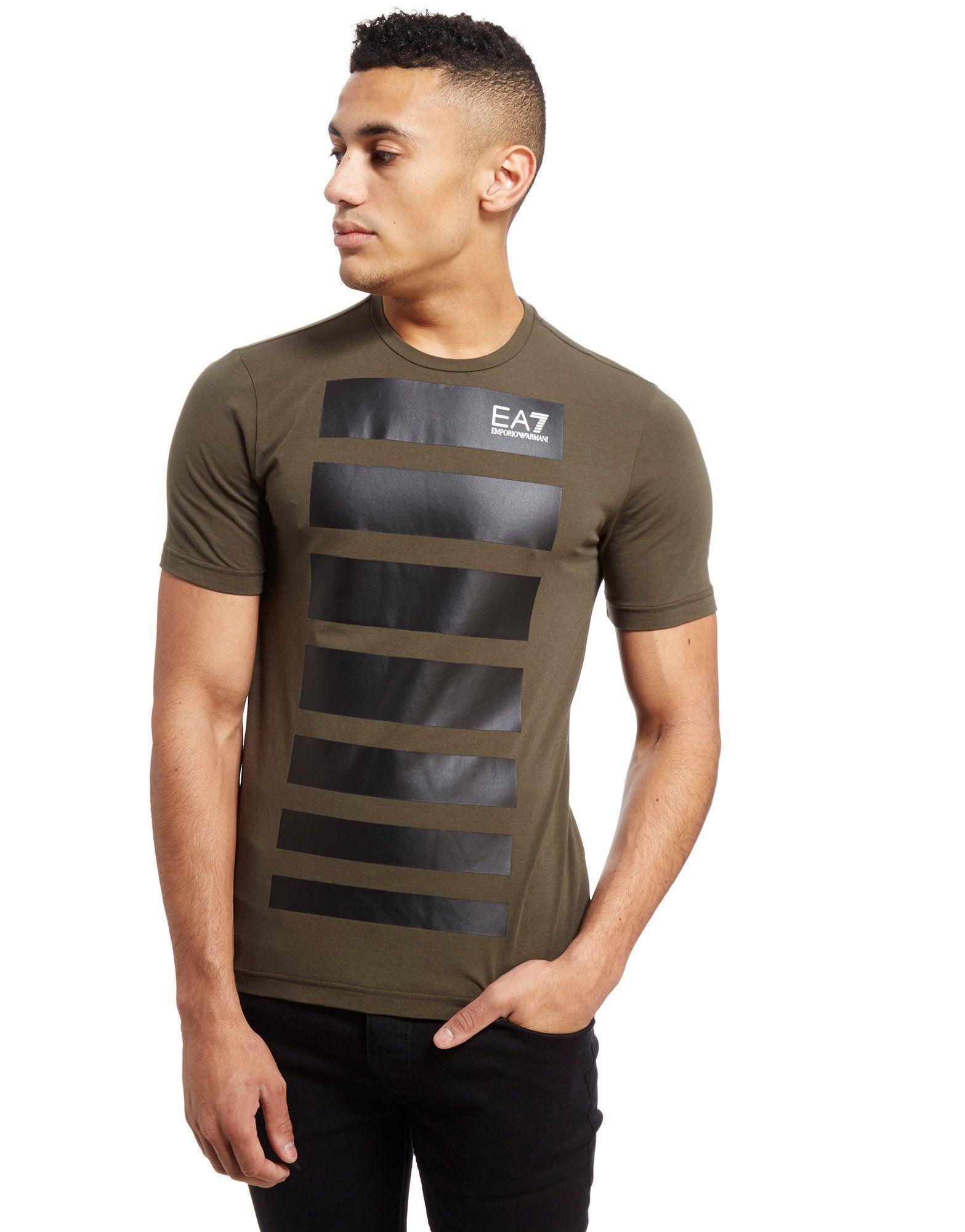 Emporio Armani EA7 7 Lines T-Shirt - Shop online for Emporio Armani EA7 7  Lines T-Shirt with JD Sports 1c828120d748
