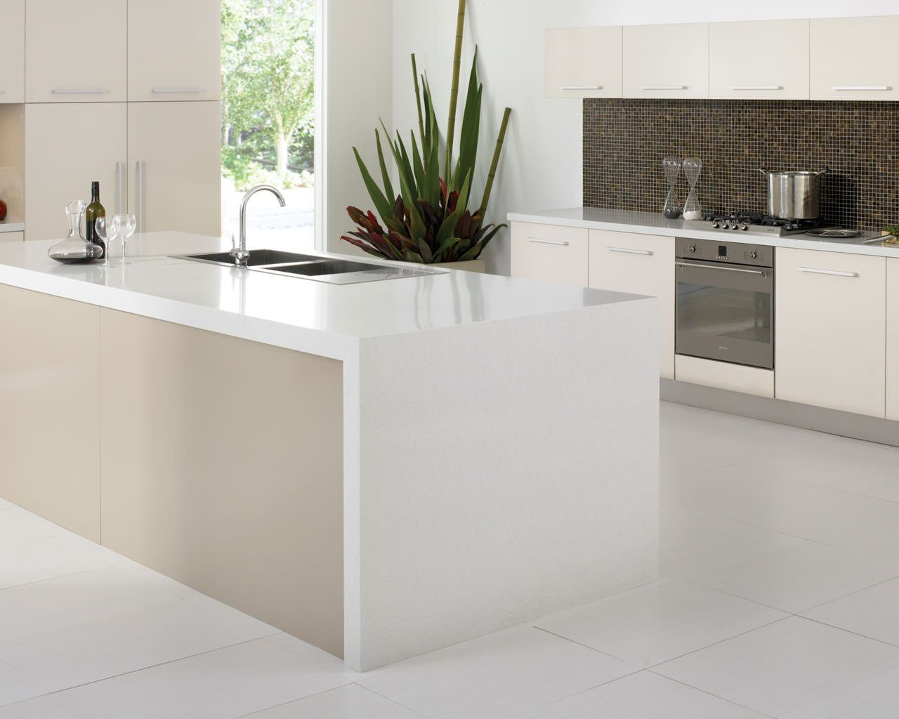 Transform your kitchen by refacing your worktops, replacing cabinet ...