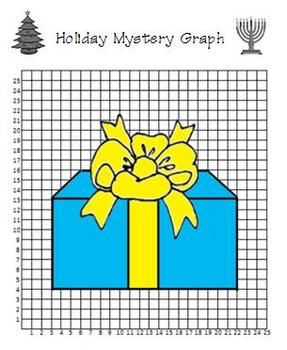 holiday gift coordinate graphing will help students practice coordinate graphing and ordered. Black Bedroom Furniture Sets. Home Design Ideas