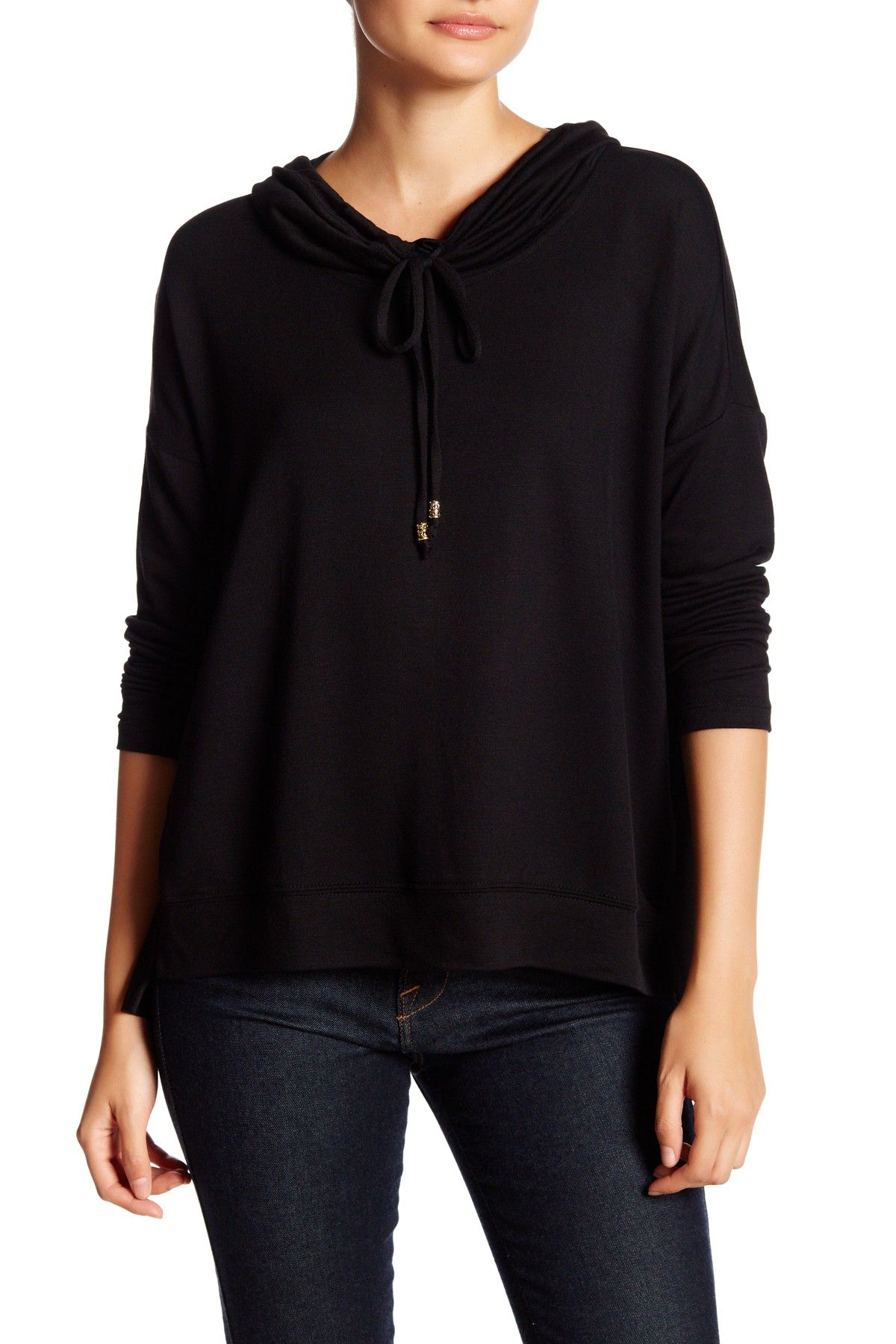 Long Sleeve Cowl Neck Sweater (Petite) | Products