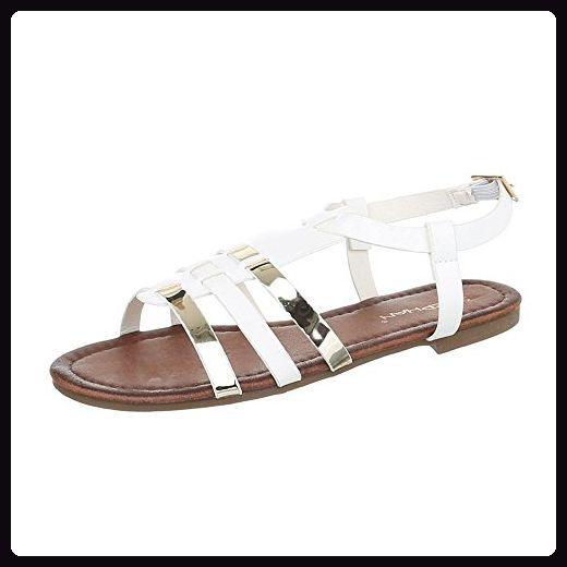 Goldene Riemchen Sandalette Gr41