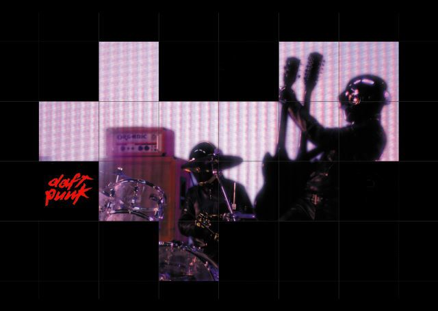 Pin de 庄庄 en Daft Punk - knuP tfaD | Bandas