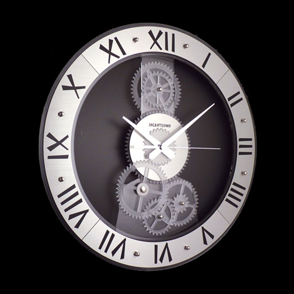 Horloge murale betty grande pinteres for Grande pendule murale design