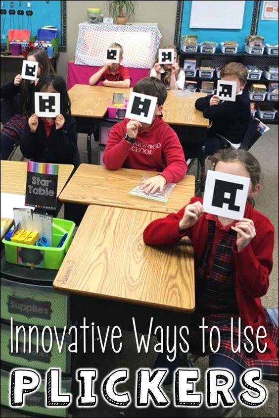 Innovative Classroom Tools ~ Plickers innovative ways to use learning