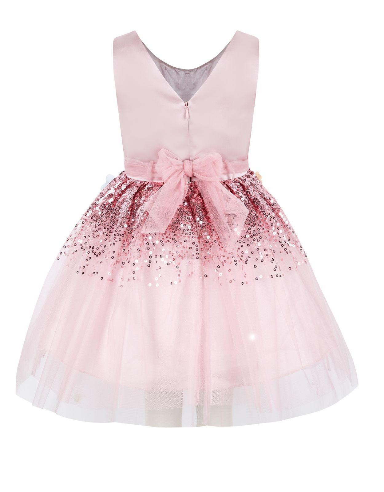 Seren Dress | Pink | Monsoon | vêtements pour enfants | Pinterest ...