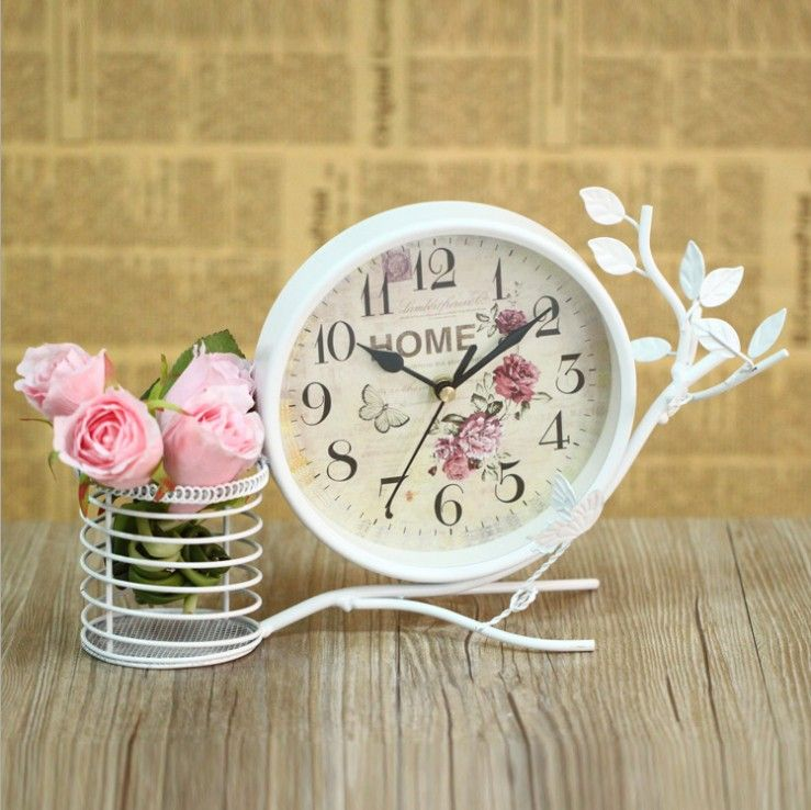 Perfect Decorative Table Clock Examples In 17 Photos | MostBeautifulThings