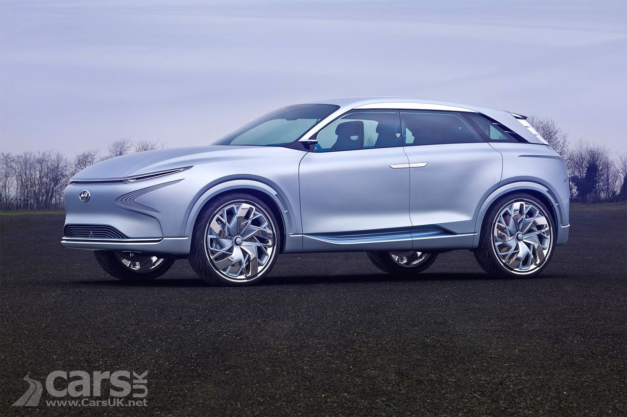 Hyundai FE Fuel Cell Concept previews a future Hyundai